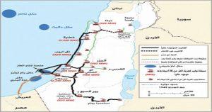 أنابيب الغاز من الكيان الصهيوني للأردن