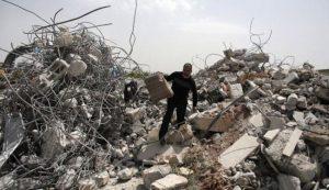 إضراب في مدن فلسطين المحتلة احتجاجا على سياسة هدم المنازل